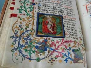 Pflanzenfarben in der Buchmalerei