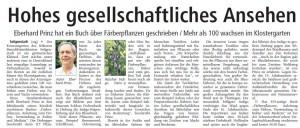 Artikel Offenbach-post: Hohes gesellschftliches Ansehen, 18.11.09
