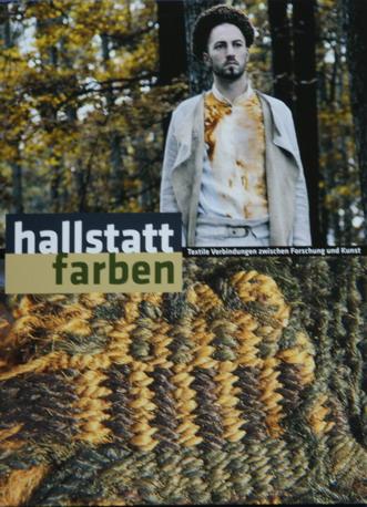 Broschüre zur Ausstellung Hallstattfarben